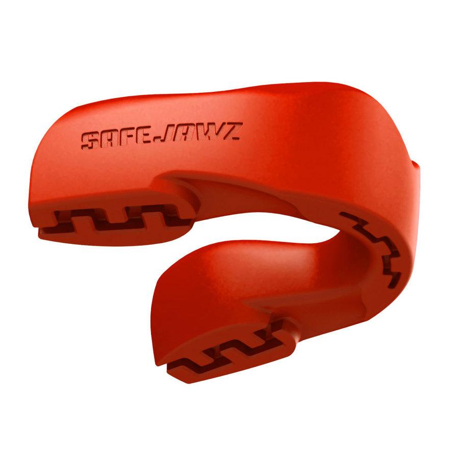 Červený chránič na zuby na bojové sporty SAFEJAWZ