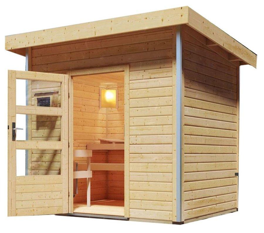 Venkovní finská sauna pro 2 osoby Jorgen, Karibu