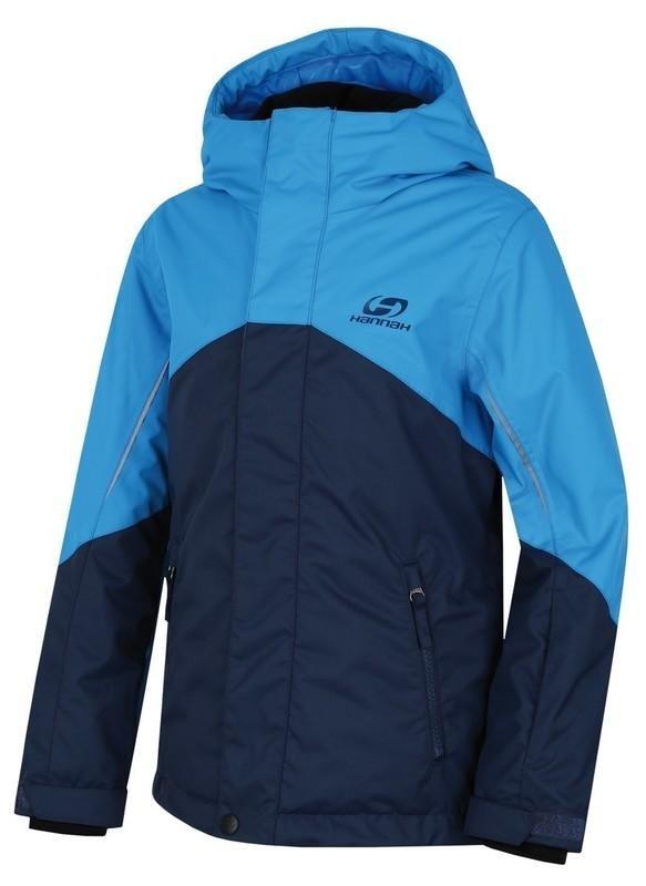 Modrá dětská lyžařská bunda Hannah - velikost 116