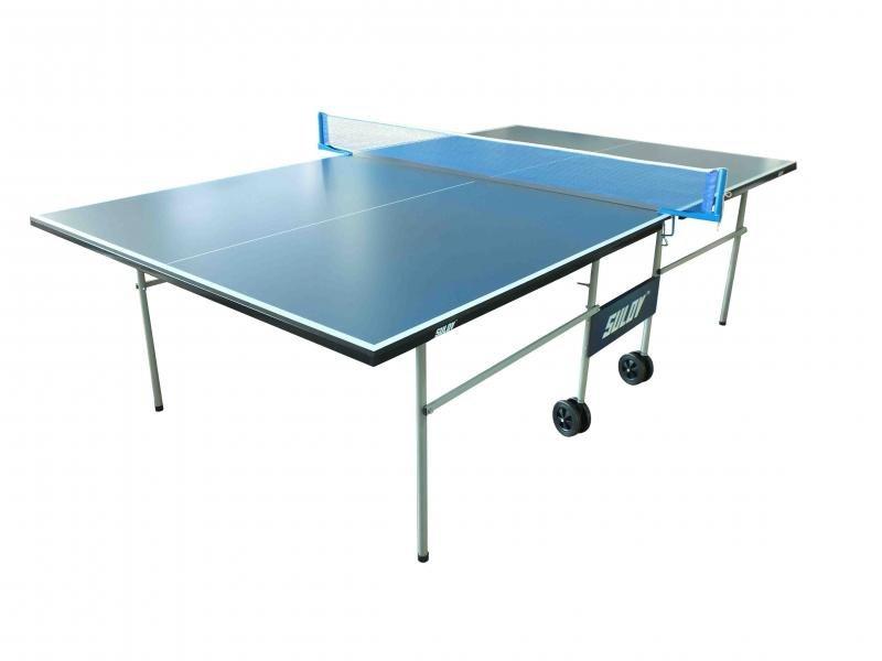 Modrý vnitřní stůl na stolní tenis IN5303, Sulov