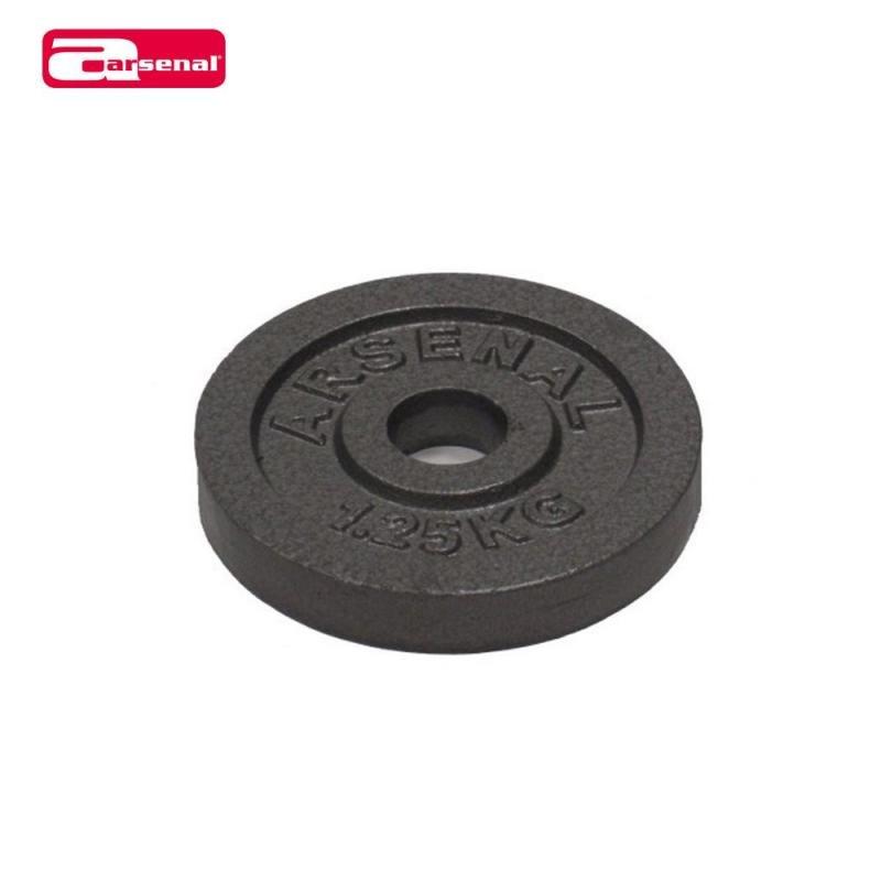 Kotouč na činky - ARSENAL kotouč litinový 1,25kg, otvor 25mm