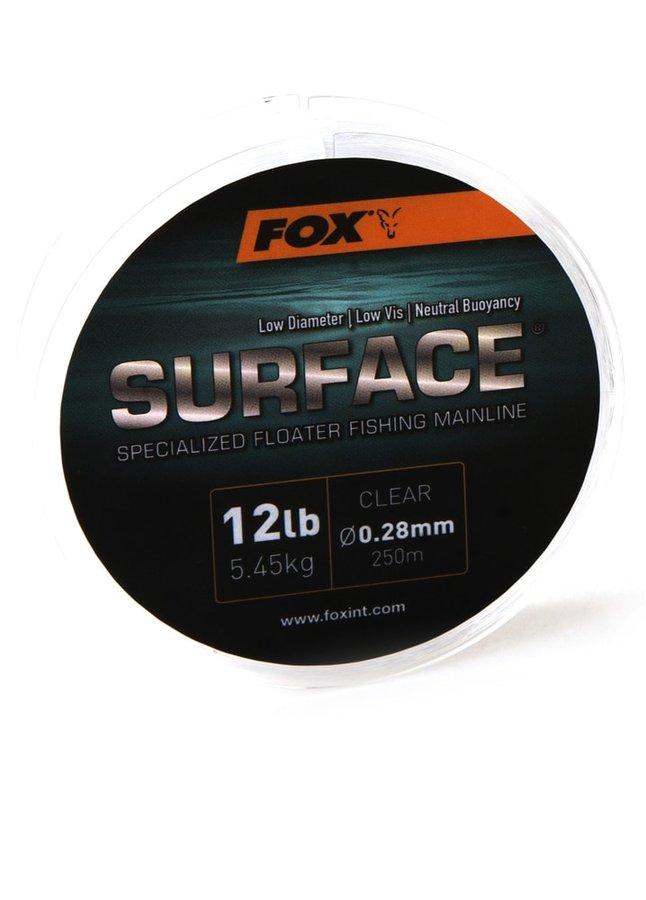 Rybářský vlasec - Fox Plovoucí vlasec Surface Floater Mainline 250m - 0.30mm / 15lb / 6.80kg