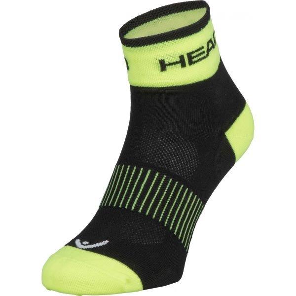 Ponožky - Head SOCKS YELLOW žlutá 40/42 - Cyklistické ponožky