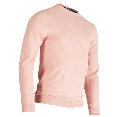 Růžový pánský golfový svetr Inesis