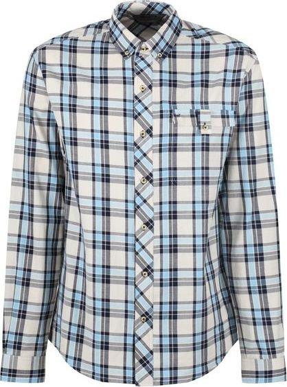 Modrá pánská košile s dlouhým rukávem Regatta