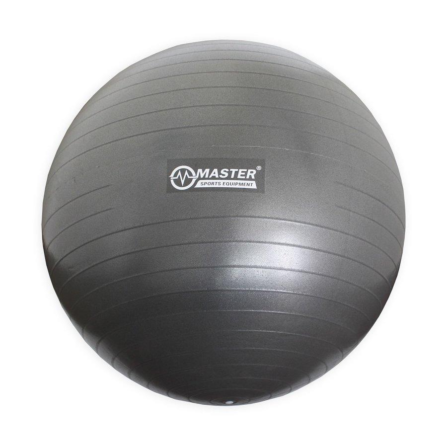 Šedý gymnastický míč Super Ball, Master Pool - průměr 65 cm