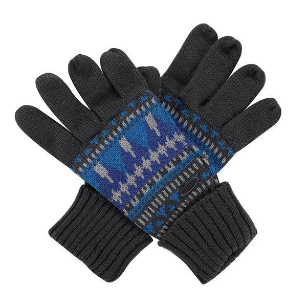 Černo-modré zimní rukavice Alpine Pro