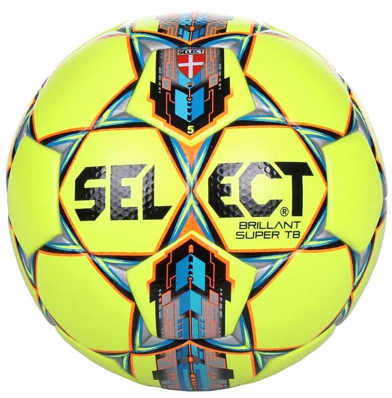 Fotbalový míč - Select Brillant Super barva: žlutá-červená;velikost míče: č. 5