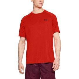 Červené pánské tričko s krátkým rukávem Under Armour
