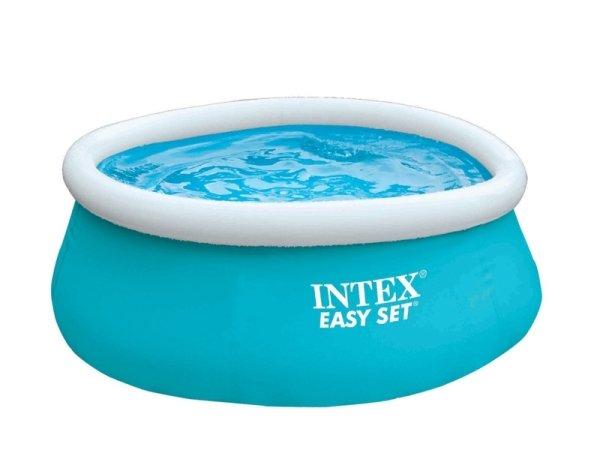 Nadzemní nafukovací kruhový bazén INTEX - objem 886 l