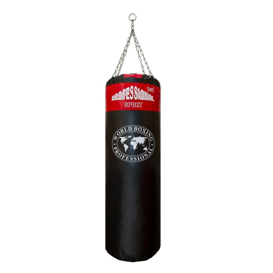 Černo-červený boxovací pytel Shindo - 32 kg