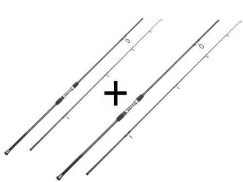 Dvoudílný kaprový prut JAF Capture - délka 300 cm