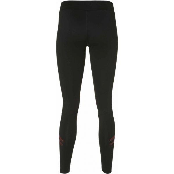 Černé dlouhé dámské běžecké kalhoty Asics