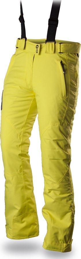 Žluté dámské lyžařské kalhoty Trimm - velikost L