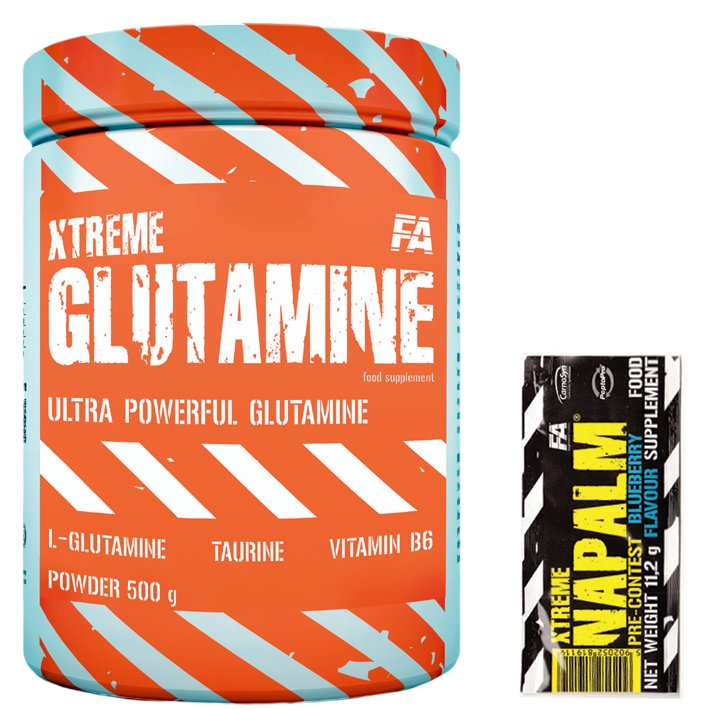 L-Glutamin Fitness Authority - 500 g