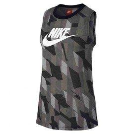 Šedé dámské tílko Nike