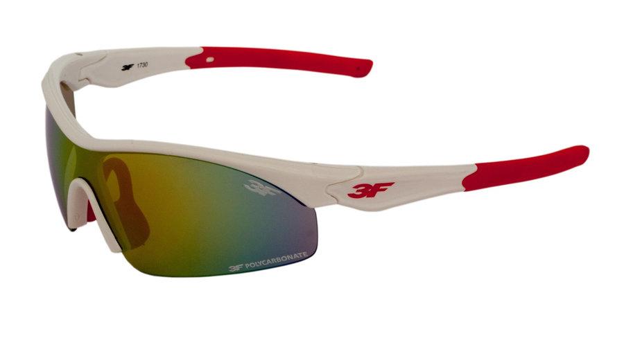 Polarizační brýle - Dětské brýle 3F Shift Barva obrouček: bílá/červená