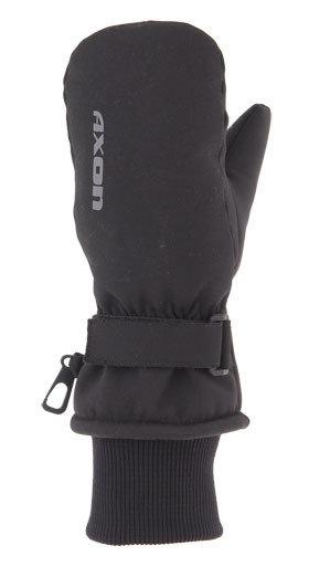 Černé dětské zimní rukavice Axon