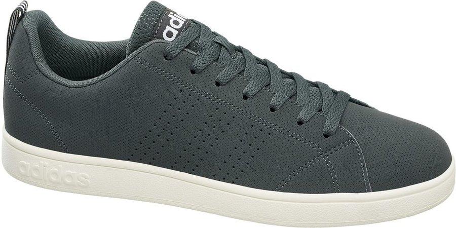 Šedé pánské tenisky Adidas - velikost 40 2/3 EU
