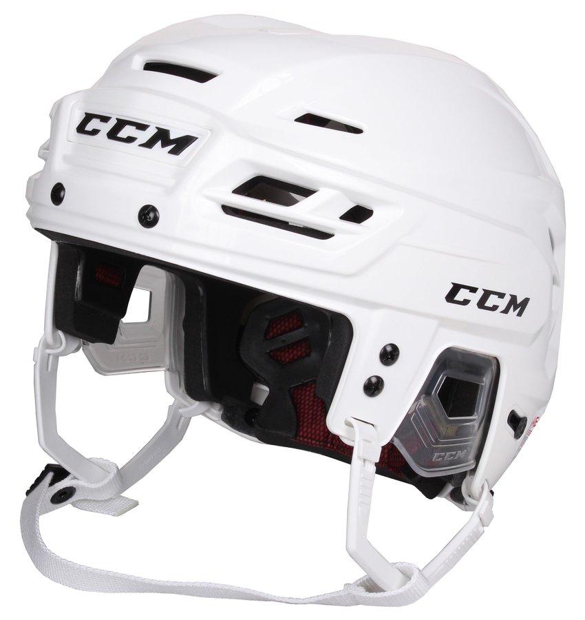 Hokejová helma - CCM Resistance 300 bílá S