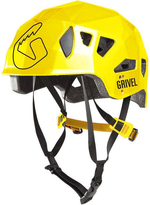 Žlutá dámská horolezecká helma Stealth HS, Grivel - velikost 53-61 cm