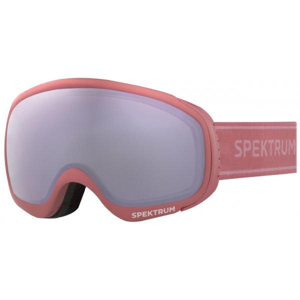 Růžové dětské lyžařské brýle Spektrum