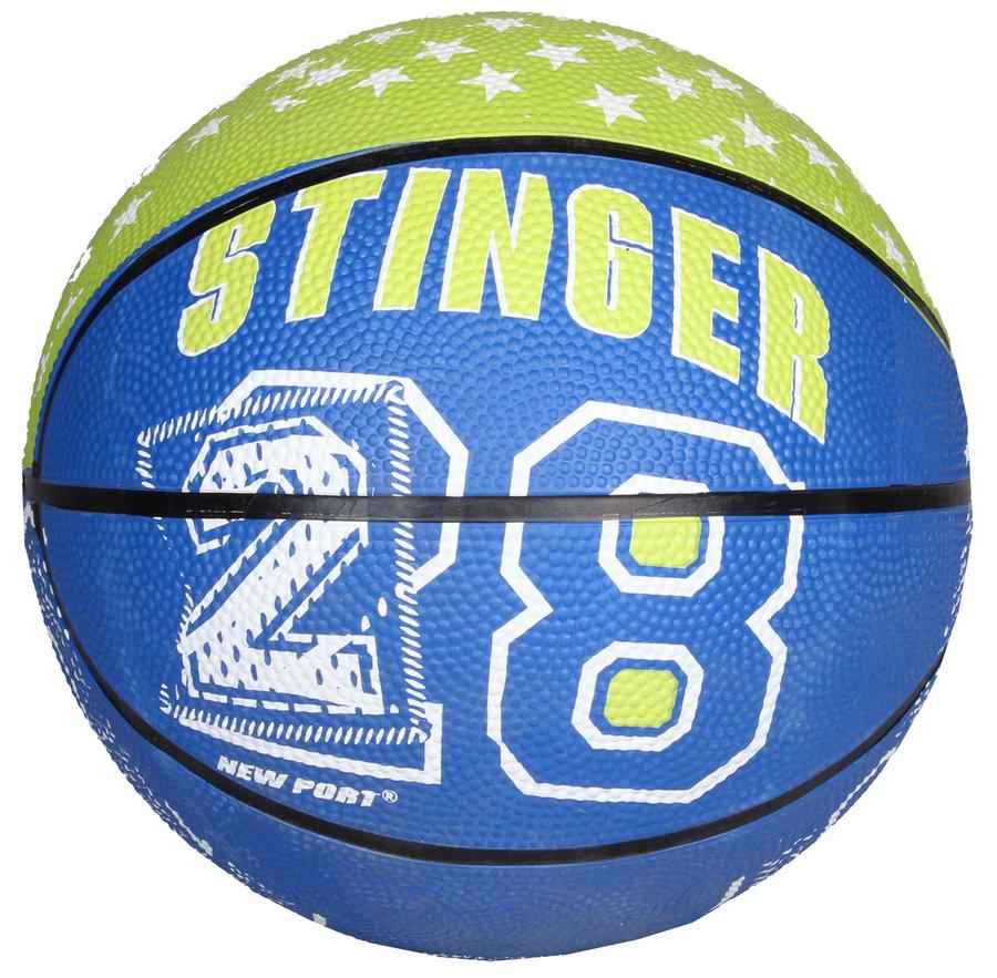 4138c44b06a5 Modro-zelený basketbalový míč Print Mini