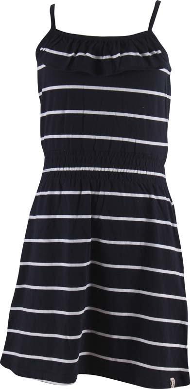 Bílo-modré dívčí šaty MARINE - velikost 134-140