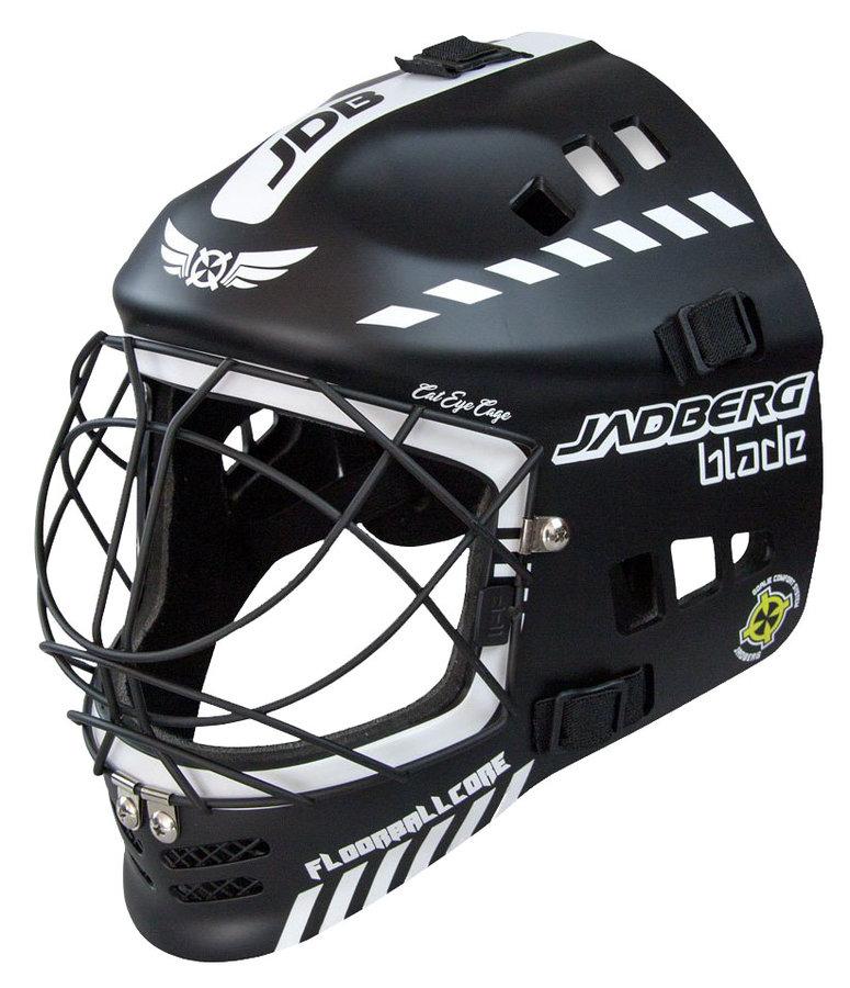Černá brankářská florbalová maska Blade, Jadberg