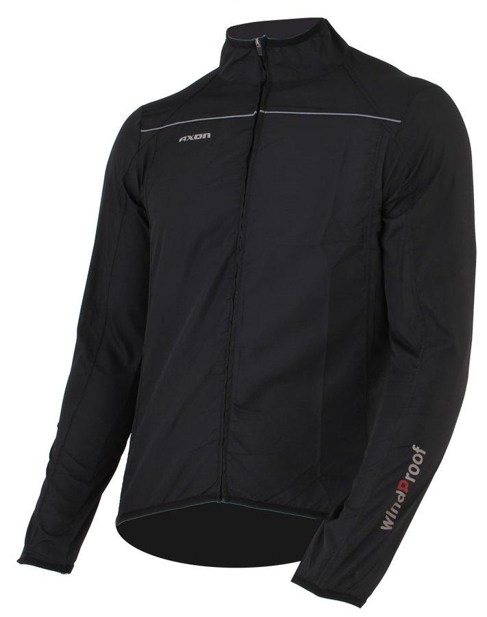 Černá pánská běžecká bunda Nippon, Axon