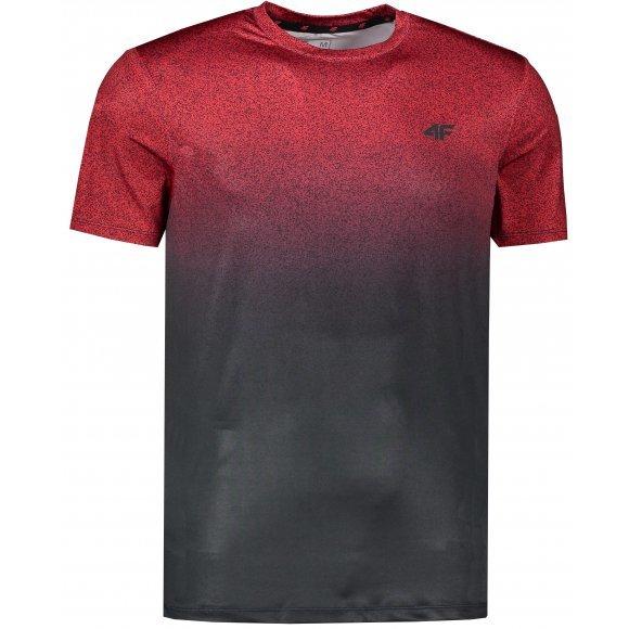 Červené pánské funkční tričko s krátkým rukávem 4F