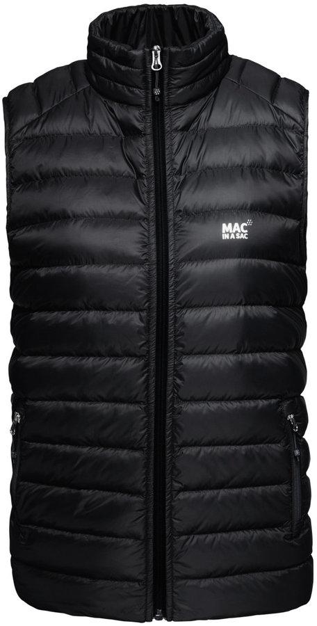 Černá pánská vesta Mac in a Sac