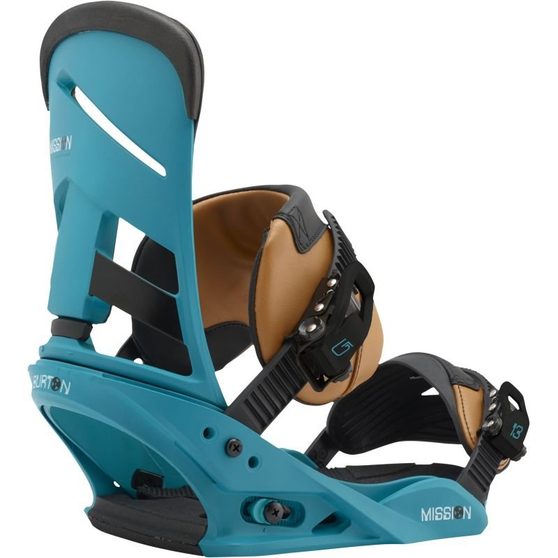 Modré vázání na snowboard Burton - velikost M