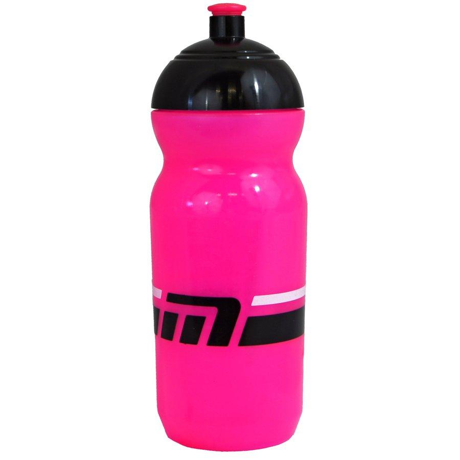Růžová cyklistická láhev na pití Maxbike - objem 0,6 l