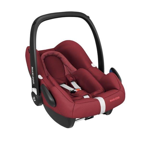Červená dětská autosedačka Rock Essencial, Maxi-Cosi - nosnost 13 kg