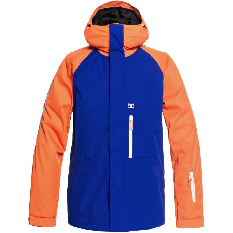 Modro-oranžová pánská snowboardová bunda DC