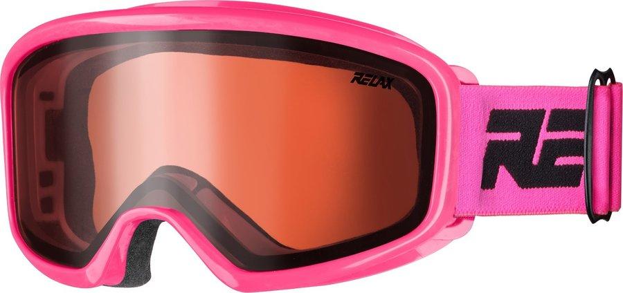 Růžové dětské lyžařské brýle Relax