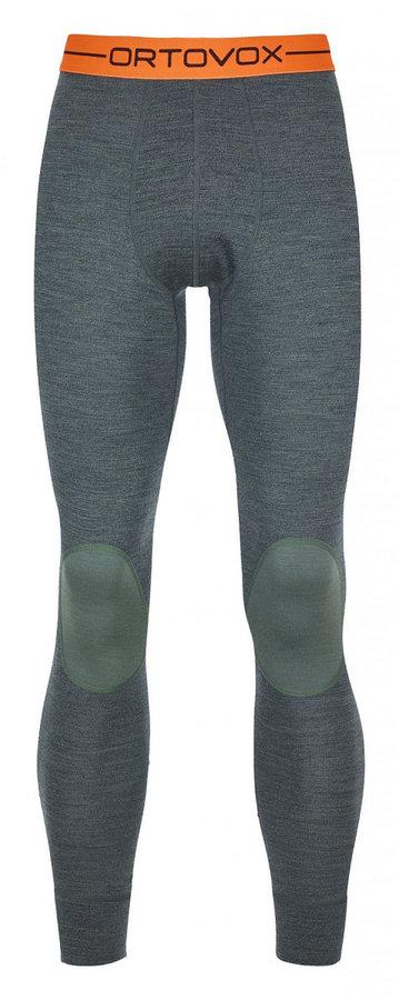 Zelené pánské funkční kalhoty Ortovox - velikost XL