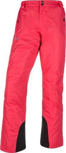 Růžové dámské lyžařské kalhoty Kilpi - velikost 38