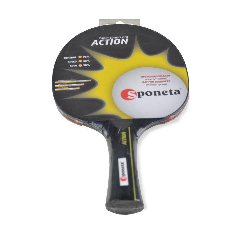 Dřevěná pálka na stolní tenis Action, Sponeta