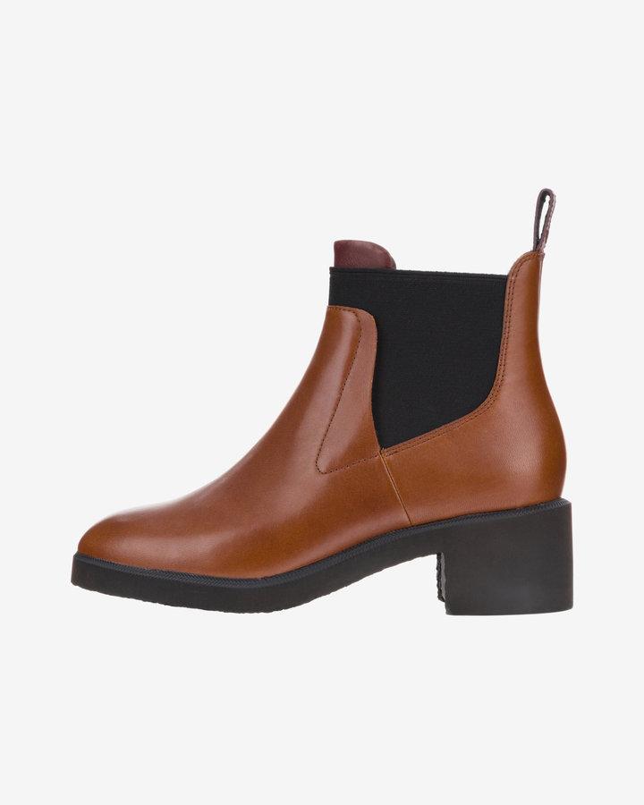 Hnědé dámské kotníkové boty Camper - velikost 40 EU