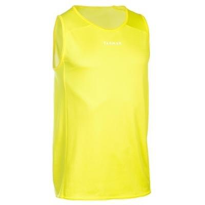 Žlutý basketbalový dres T100, Tarmak