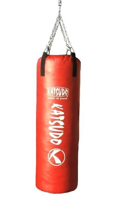 Červený boxovací pytel Katsudo