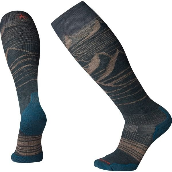 Šedé pánské lyžařské ponožky SmartWool - velikost XL