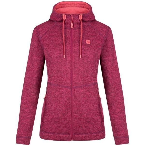 Růžový dámský svetr Loap - velikost S