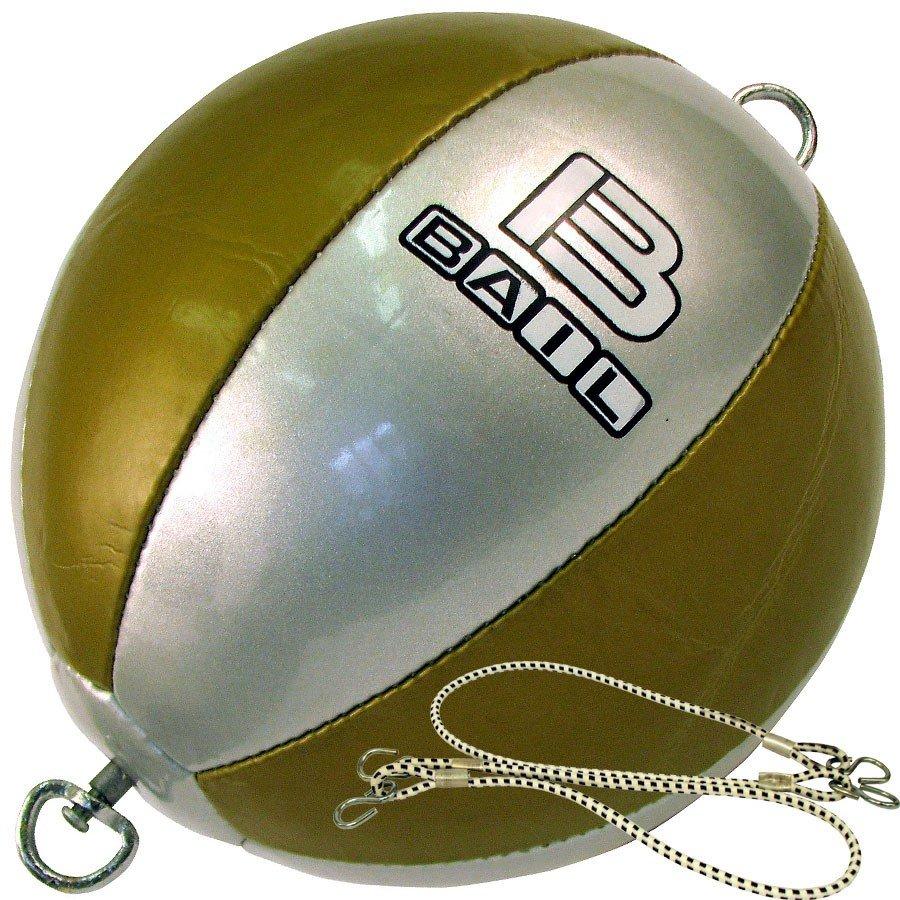 Stříbrno-zlatý boxovací míč Bail