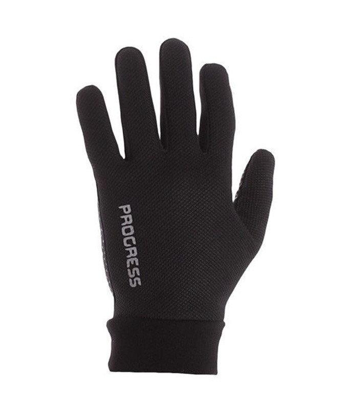 Černé dámské zimní rukavice Progress - velikost L