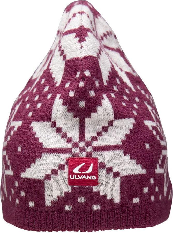 Fialová zimní čepice Ulvang - velikost 58 cm