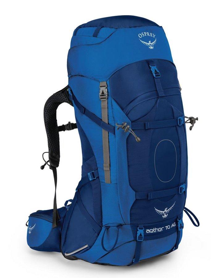 Batoh - Osprey AETHER AG 70 - neptune blue Velikosti: L