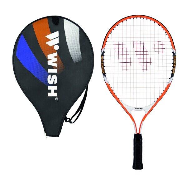 Oranžová tenisová raketa 2600, Wish - délka 58,4 cm